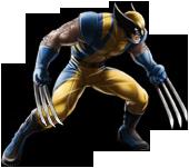 Marvel Avengers Alliance - Wolverine (Yellow & Blue)