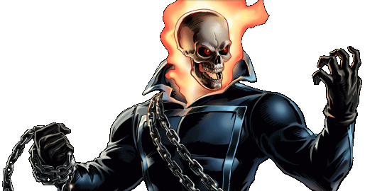 Marvel Avengers Alliance - Dialogue Artwork - Ghost Rider (Classic)
