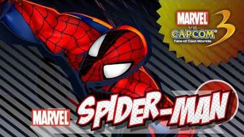 Marvel vs. Capcom 3 Fate of Two Worlds - Spider-Man