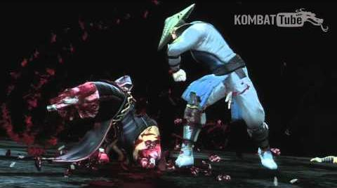 "Mortal Kombat (2011) - Fatalities - Raiden - ""Just a Scratch"""