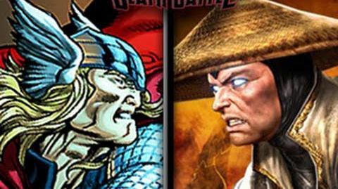 DEATH BATTLE! - Thor VS Raiden