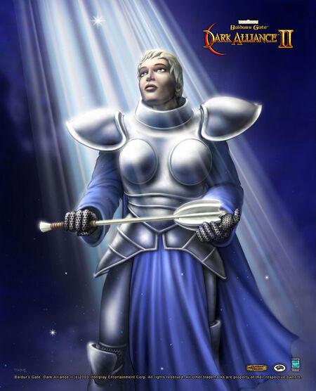 Baldur's Gate- Dark Alliance II - Allessia Faithhammer