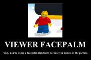 Viewer Facepalm