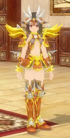 Virgo Zodiac Armor (F)
