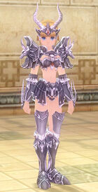 Capricorn Zodiac Armor (F)