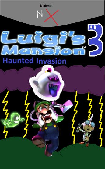 Luigi's mansion 3 boxart