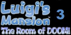 Luigi's Mansion 3 logo