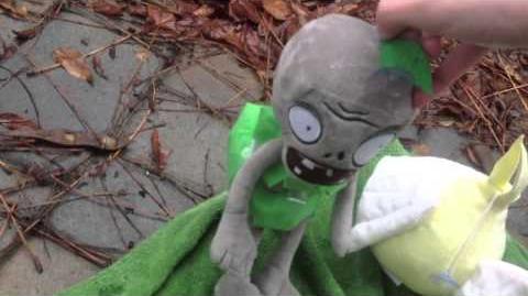 Plants vs Zombies Plush The Rain