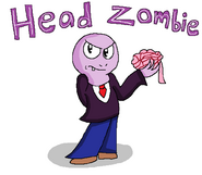 Head Zombie, seccond in command