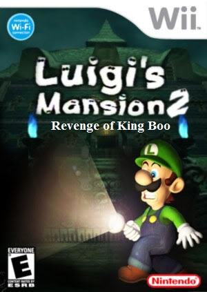 Luigi's Mansion 2 final cover