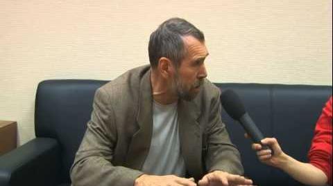 Евгений Лукин интервью перед концертом 02 12 2008