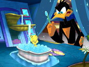 Loonatics tweety bathing gross