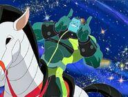 Loonatics massive horse