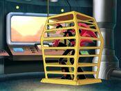 Loonatics cage