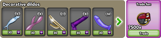 Collections - Decorative dildos