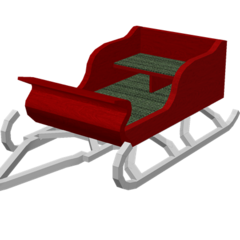 The Sleigh, the first event-exclusive vehicle.