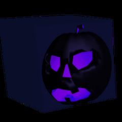 A boxed Dark Pumpkin.