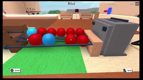 Bowling alley on Lumber tycoon 2 with fully working auto ball return!