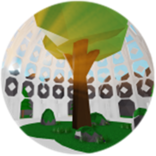 Chill Out!: The Badge earned when the Easy Gift code was spoken to the Tree