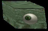 Preserved Enlarged Ostrich Eye