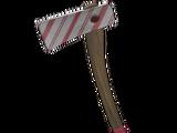 Candy Cane Axe