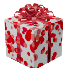 Happy Red Gift of Fun