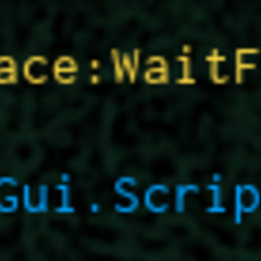 The developer console, having an error of a script for Beesmas