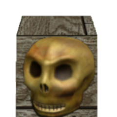The Eerie Skull, and item that was never released.