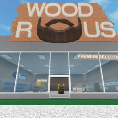 Wood R Us, one of the stores of the biome.