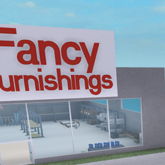 Fancy Furnishings & a billboard