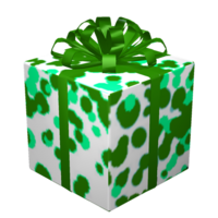 Joyful green gift of high quality charm