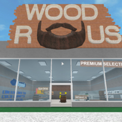 The Wood R Us shop in the legacy lighting