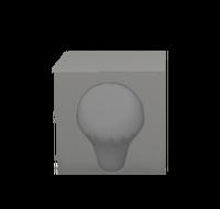 Lightbubleface