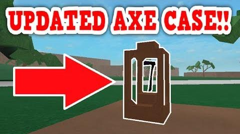Video - NEW AN IMPROVED LUMBER TYCOON AXE STORAGE CASE