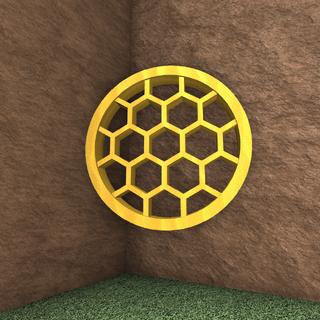 Empty Honeycomb.