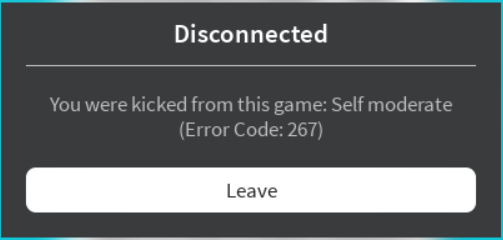 I Keep Getting Kicked From The Server For No Reason Lumber