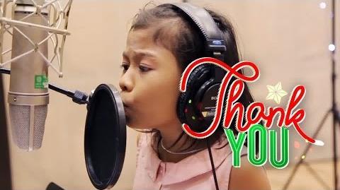 """ABS-CBN Christmas Station ID 2014 """"Thank You, Ang Babait Ninyo"""" Lyric Video"""