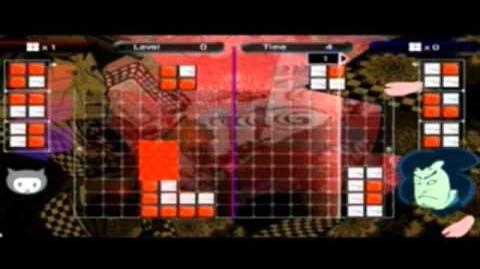 Lumines Live! Bosses