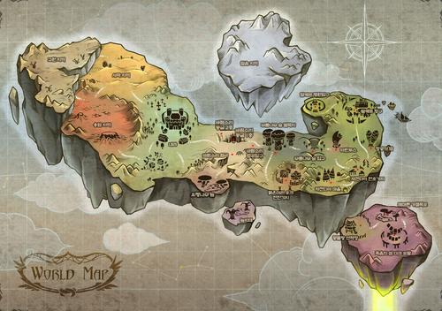 Luna map