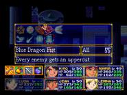 Blue Dragon Fist Menu