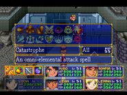 Catastrophe Menu