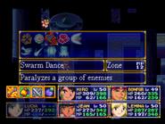 Swarm Dance Menu