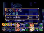 Blue Dragon Palm Menu