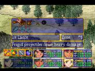Ice Lance Menu