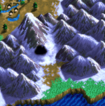 White dragon cave