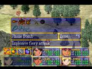 Flame Bomb Menu