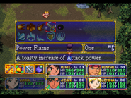 Power Flame Menu