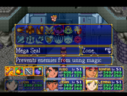 Mega Seal Menu