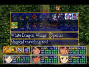White Dragon Wings Eternal Blue