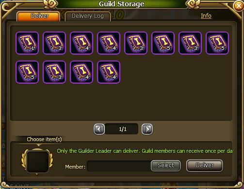 Guild Storage